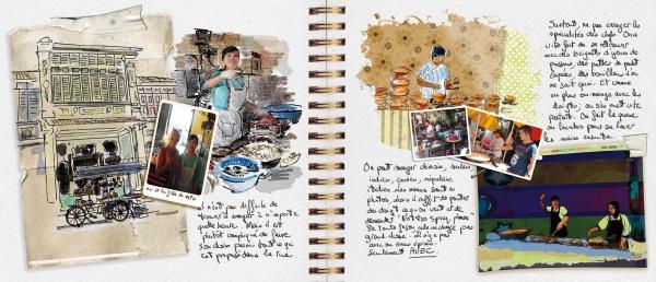 comment faire un carnet de voyage dessins et photos