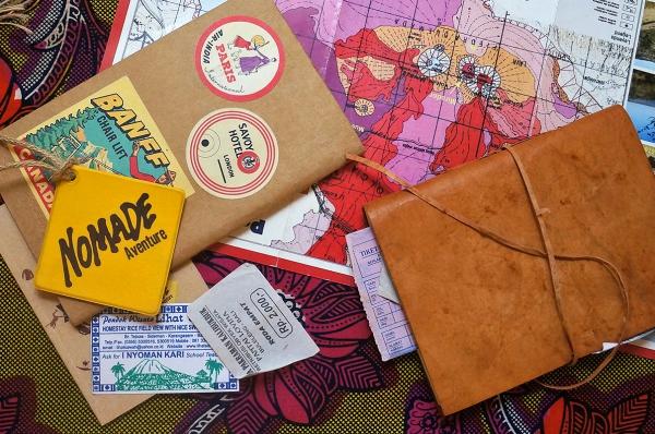 comment faire un carnet de voyage raconter une vie nomade