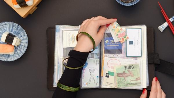comment faire un carnet de voyage toutes sortes d'objets