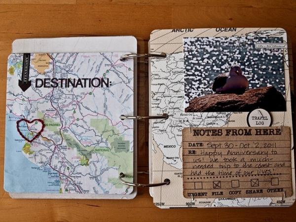 comment faire un carnet de voyage traversée de l'océan