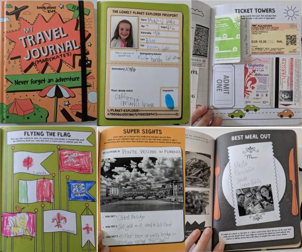 comment faire un carnet de voyage un carnet d'enfant