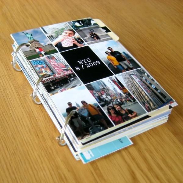 comment faire un carnet de voyage un journal bien épais