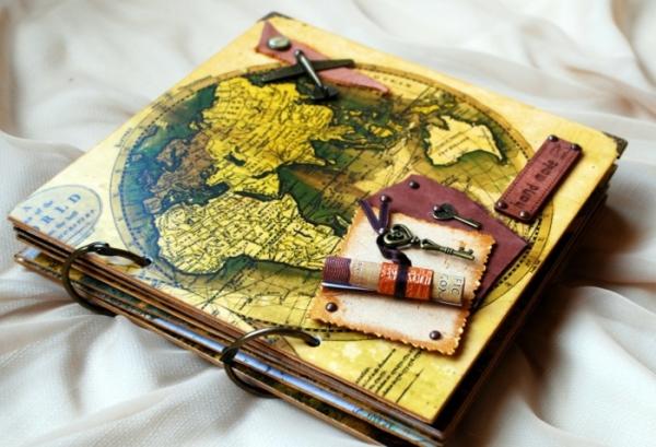 comment faire un carnet de voyage un journal fait à la main