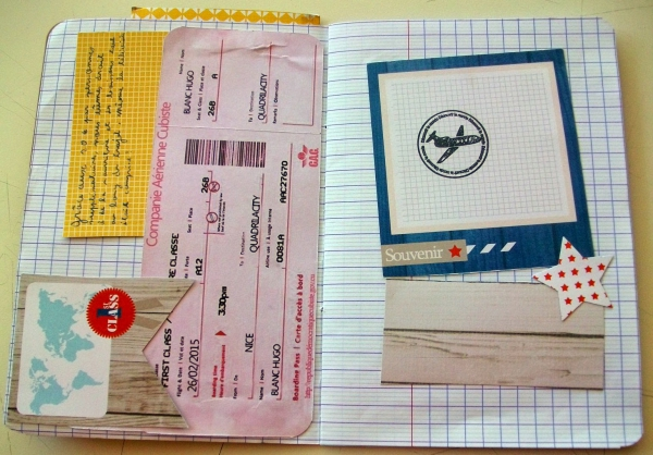 comment faire un carnet de voyage un simple cahier