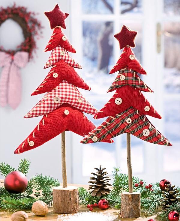 déco Noël à fabriquer en tissu une idée originale