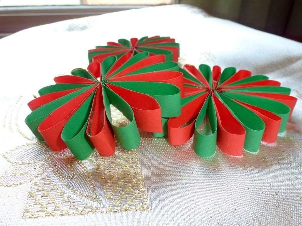 déco Noël à faire soi-même belle fleur