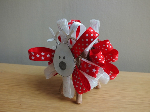 déco Noël à faire soi-même le renne Rodolphe
