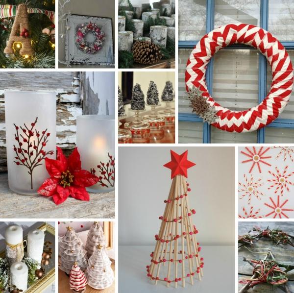 déco Noël à faire soi-même plusieurs idées