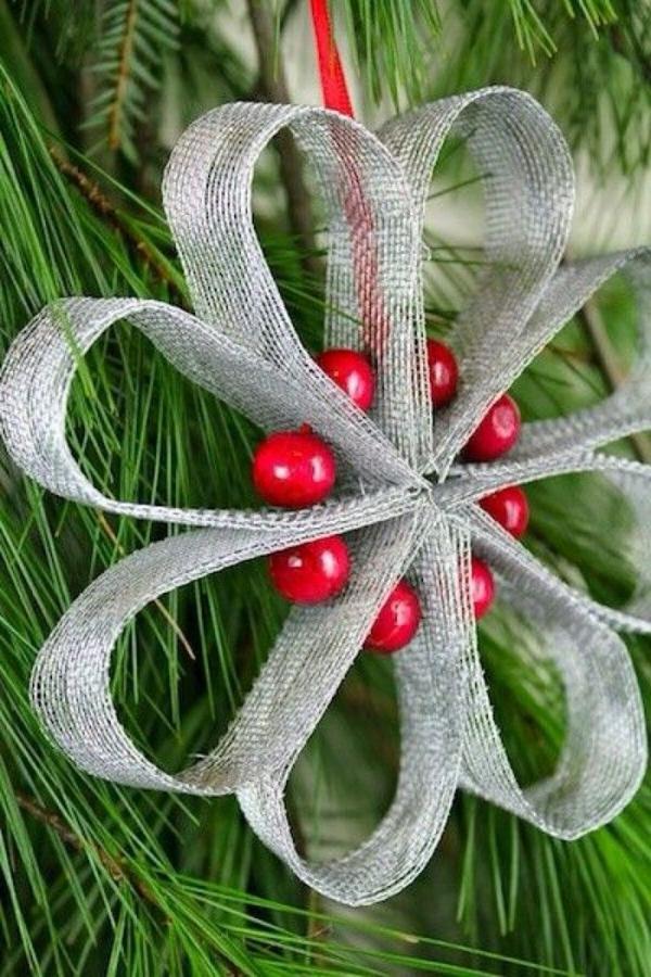 déco Noël à faire soi-même poinsettia artificielle