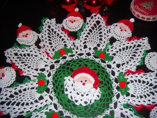 déco Noël au crochet une décoration compliquée