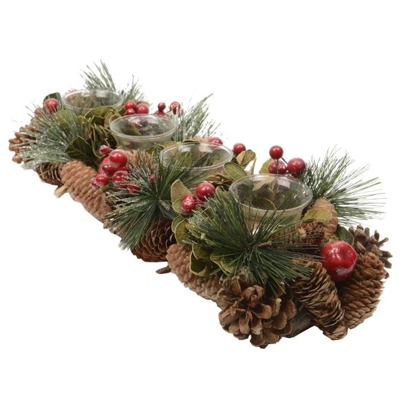 déco Noël pomme de pin un vrai objet d'art