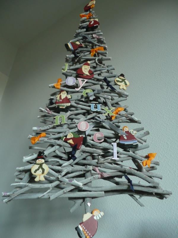 décoration Noël à fabriquer en bois les cadeaux de la mer