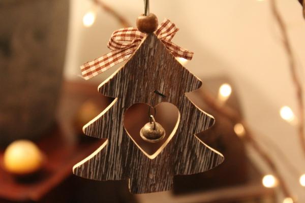 décoration Noël à fabriquer en bois un petit sapin