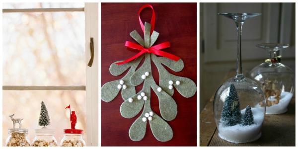 décoration Noël déco transparente
