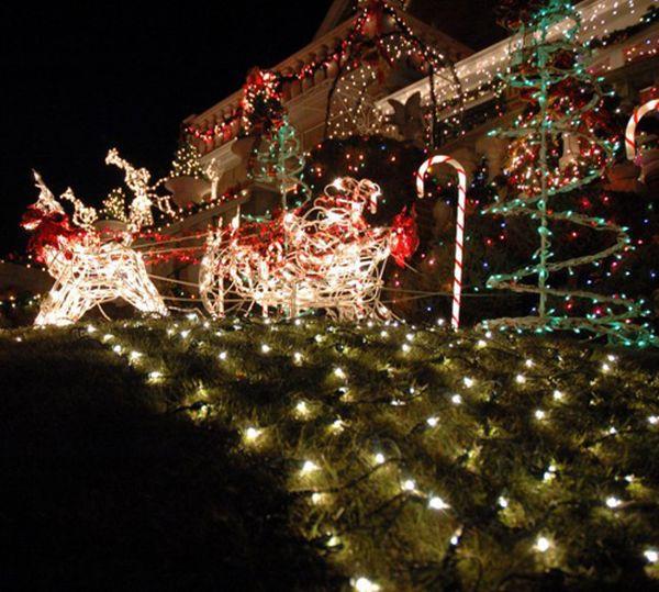 décoration Noël joli extérieur