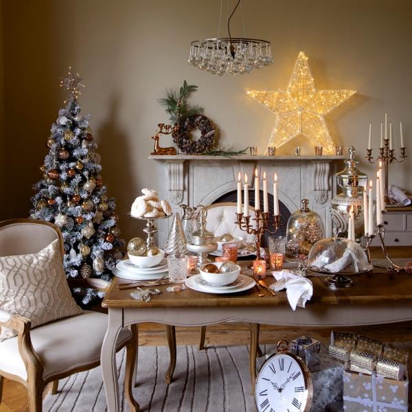 décoration Noël sapin décoré