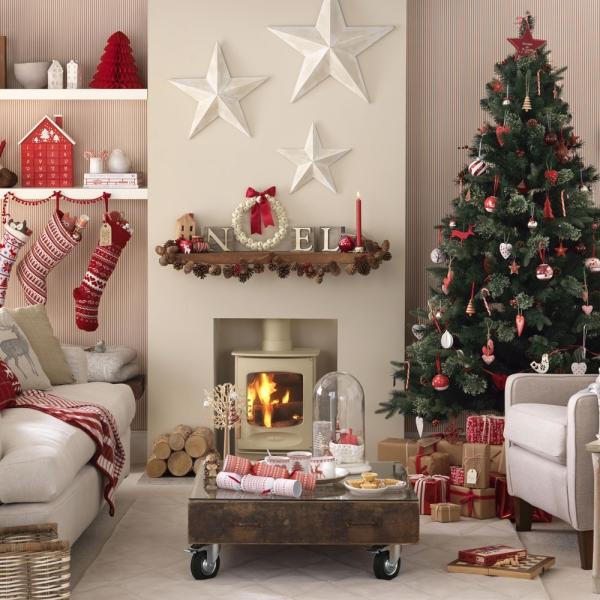 décoration Noël style vintage