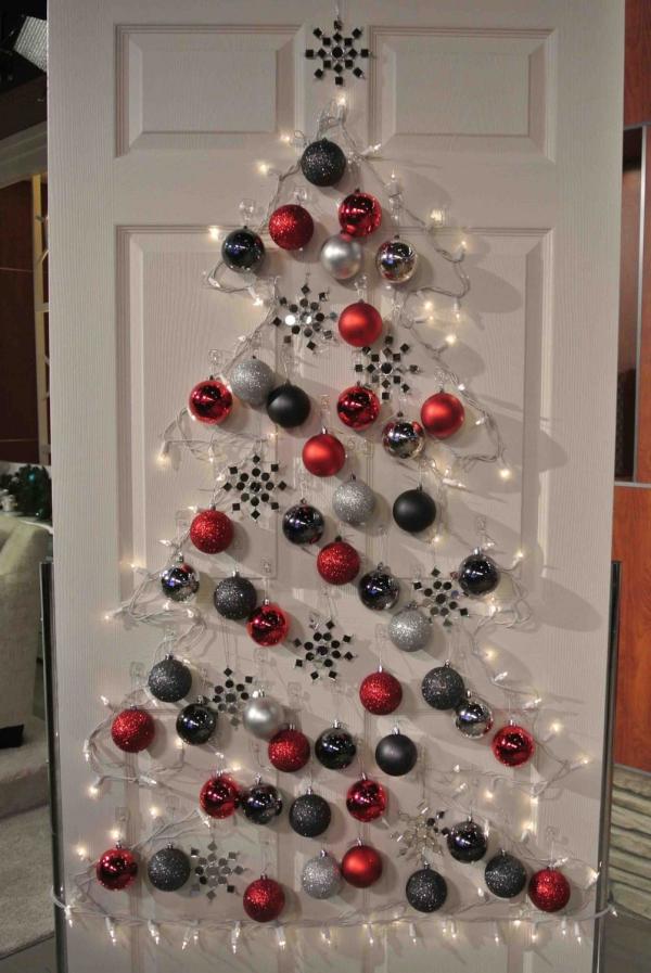 décoration Noël un sapin lumineux