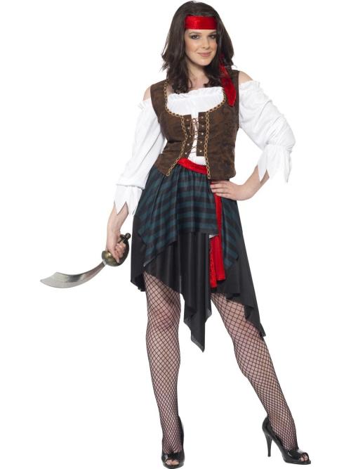 déguisement Halloween Jack Sparrow costume pour femme