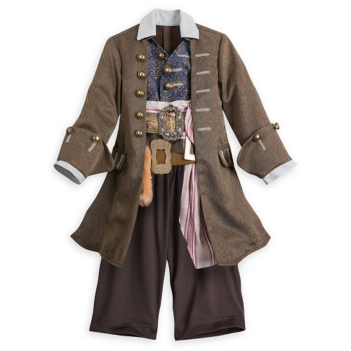 déguisement Halloween Jack Sparrow joli survêtement