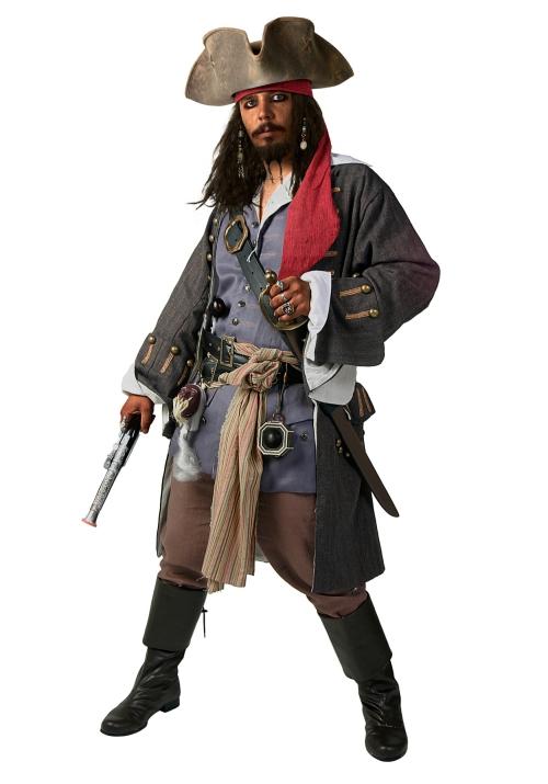 déguisement Halloween Jack Sparrow un costume complet