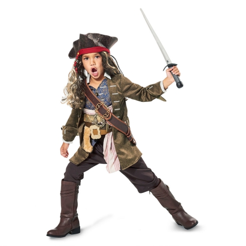déguisement Halloween Jack Sparrow un petit pirate