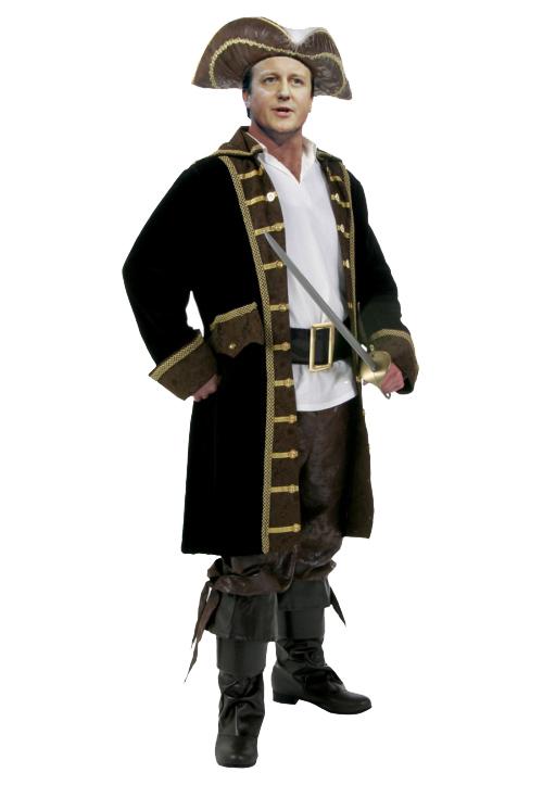 déguisement Halloween Jack Sparrow un pirate sérieux
