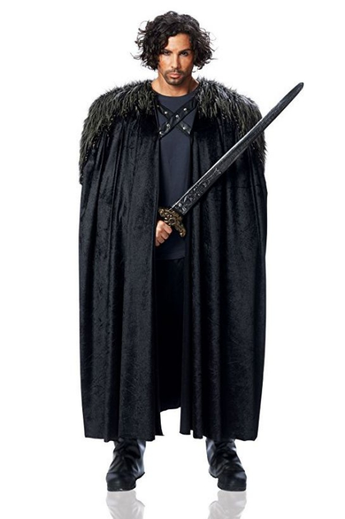 déguisement Halloween game of thrones le vrai John Snow