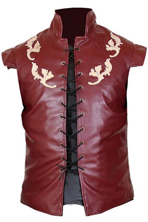 déguisement Halloween game of thrones un gilet en cuir
