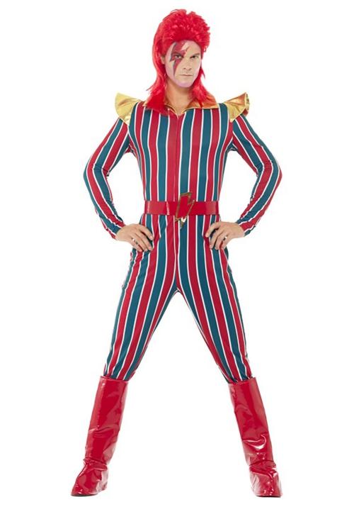 déguisement années 80 costume pour homme super star