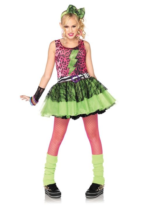déguisement années 80 jambières vertes