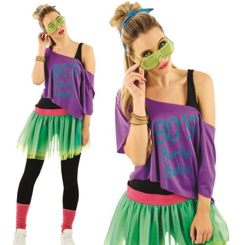 déguisement années 80 party girl