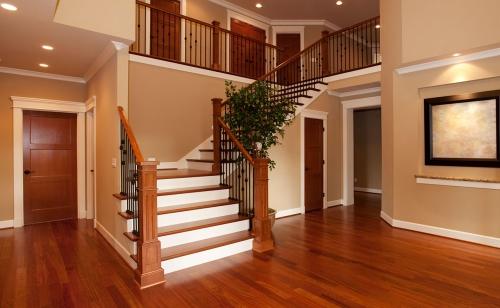 escalier quart tournant plus large