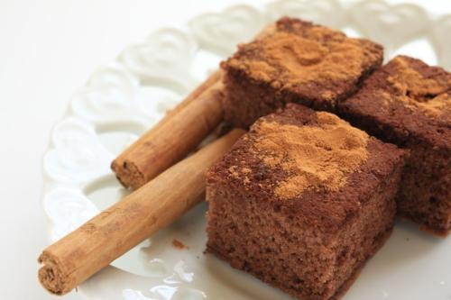 gâteau à la cannelle de ceylan