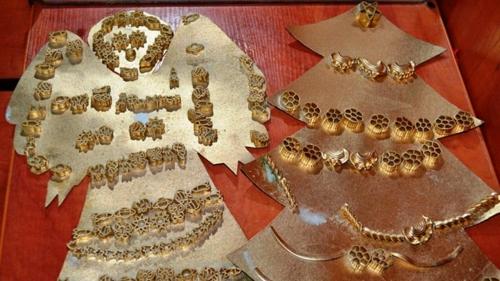 idée bricolage noël pâtes alimentaires carton