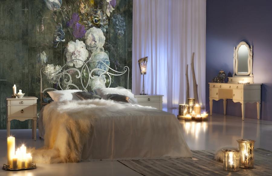 idée déco chambre adulte romantique luminaires design