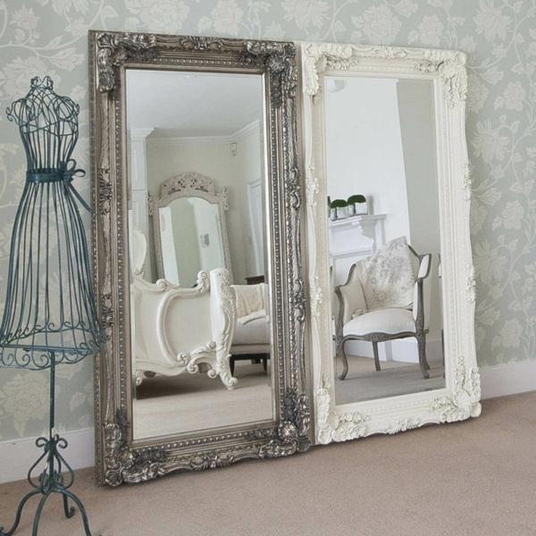 idée déco chambre adulte romantique miroirs style baroque