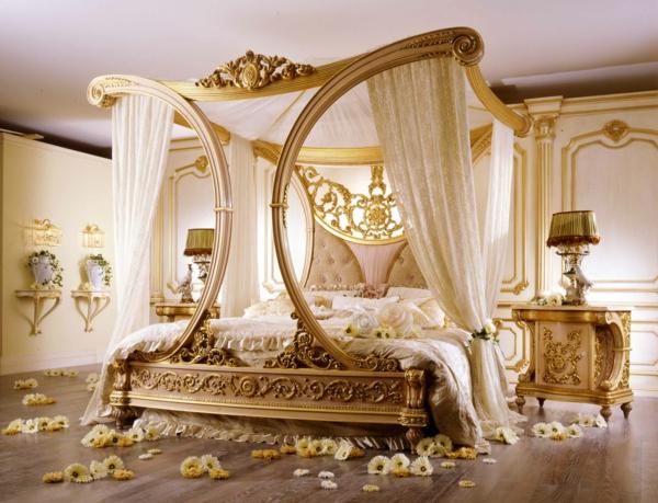 idée déco chambre adulte romantique mobilier design unique