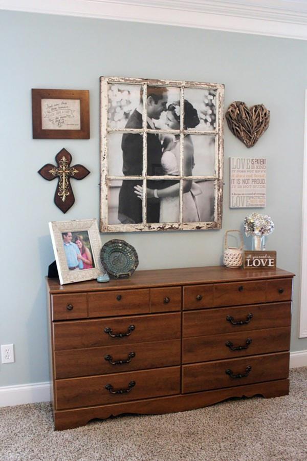 idée déco chambre adulte romantique mobilier vintage