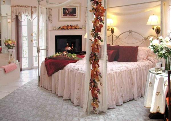 idée déco chambre adulte romantique rose pâle