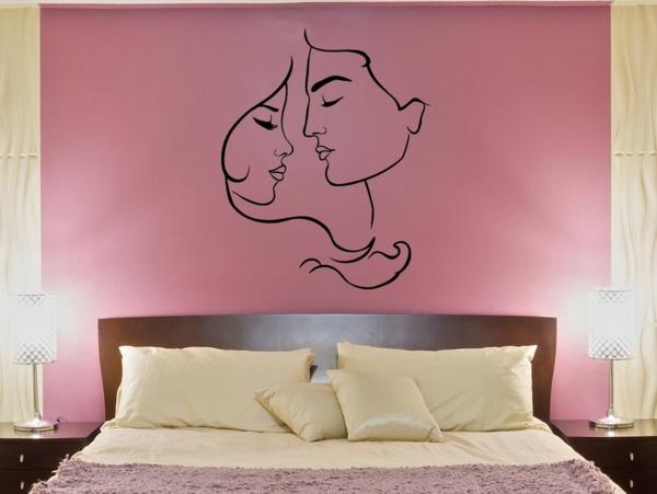 idée déco chambre adulte romantique rose pastel