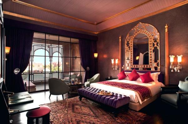 idée déco chambre adulte romantique style oriental