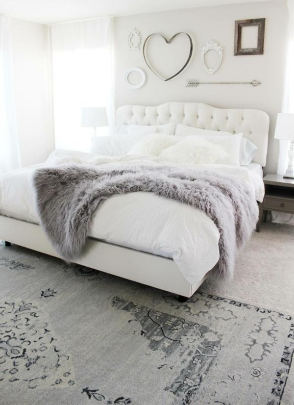 Elegant Idée Déco Chambre Adulte Romantique Style Scandinave