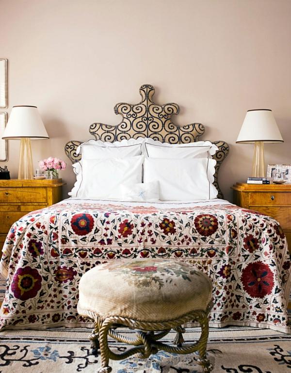 idée déco chambre adulte romantique style vénétien