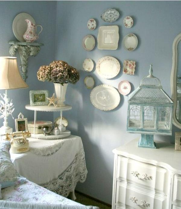 idée déco chambre adulte romantique style vintage