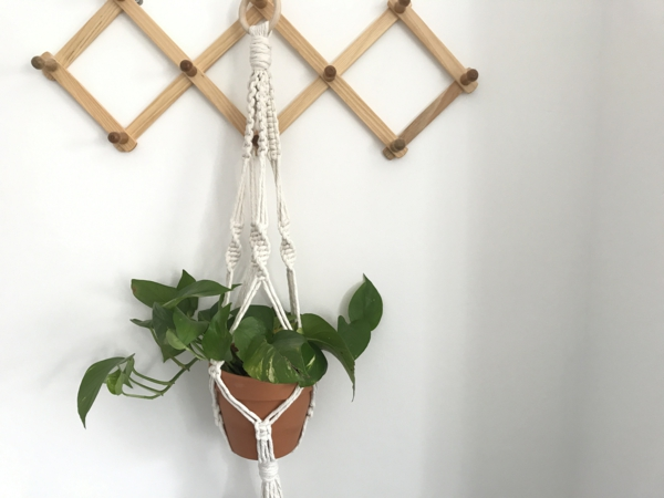 idée déco diy suspension macramé