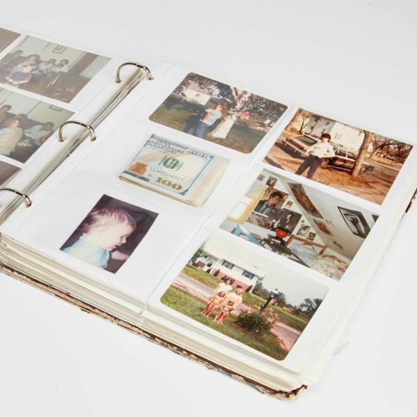 idée de cachette secrète maison album de photos