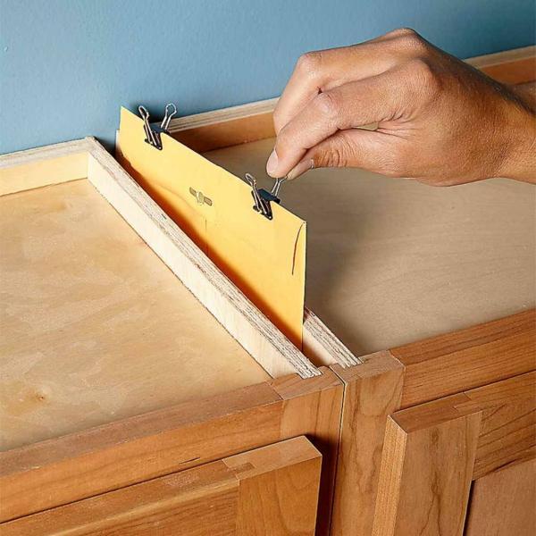 idée de cachette secrète maison armoires de cuisine