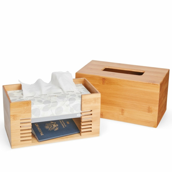 idée de cachette secrète maison boîte à mouchoirs