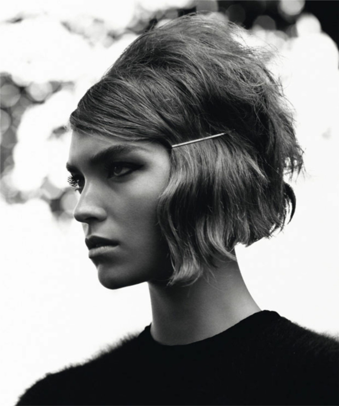 idée de coiffure moderne carré dégradé